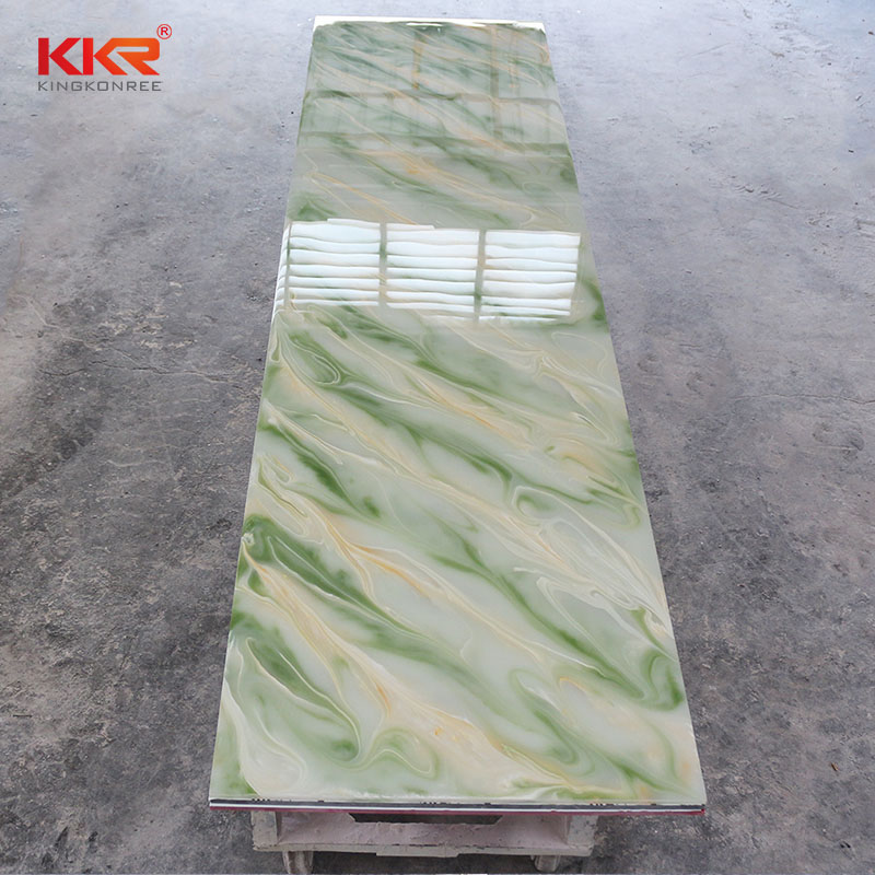 KingKonree Acrylic Stone Translucent Solid Surface Sheets KKR - A026 Translucent Solid Surface Sheets image47