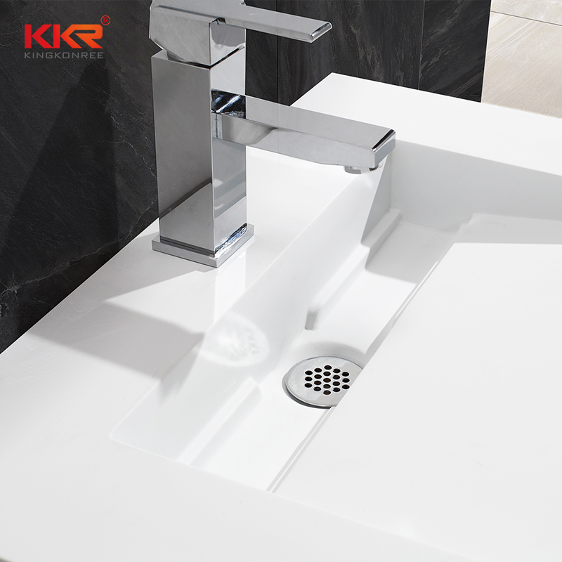 KingKonree Solid Surface Modern Fancy Unique Wall-hung Basin KKR-1379 Wall Mount Basin image44