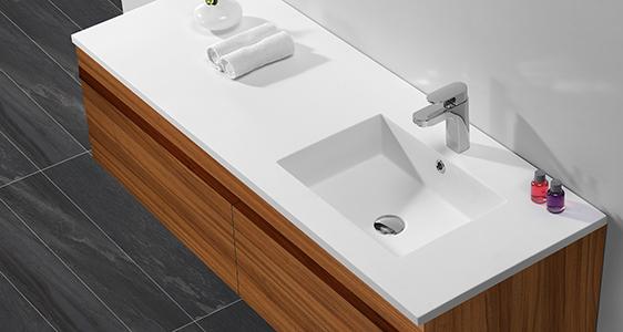 KingKonree rectangle wash basin with cabinet online design for hotel-1
