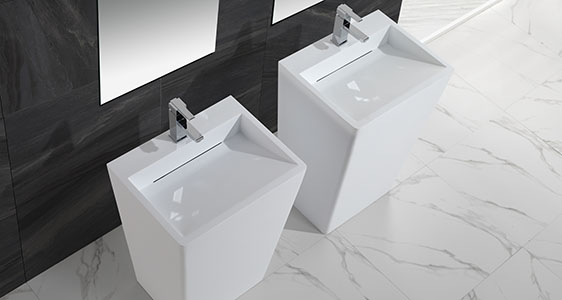 KingKonree height freestanding bathroom basin supplier for bathroom-1