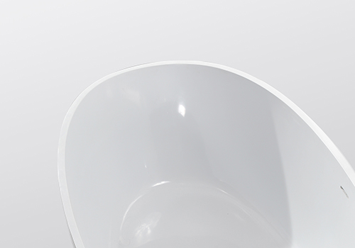 KingKonree round freestanding bathtub at discount for bathroom-5