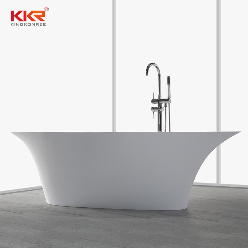 190cm Solid Surface Freestanding Bathtub KKR-B009