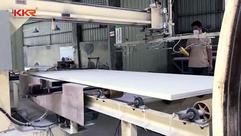KKR Acrylic Solid Surface Sheet Production