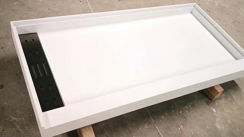 Bandeja de ducha de superficie sólida de diseño moderno KKR-T028