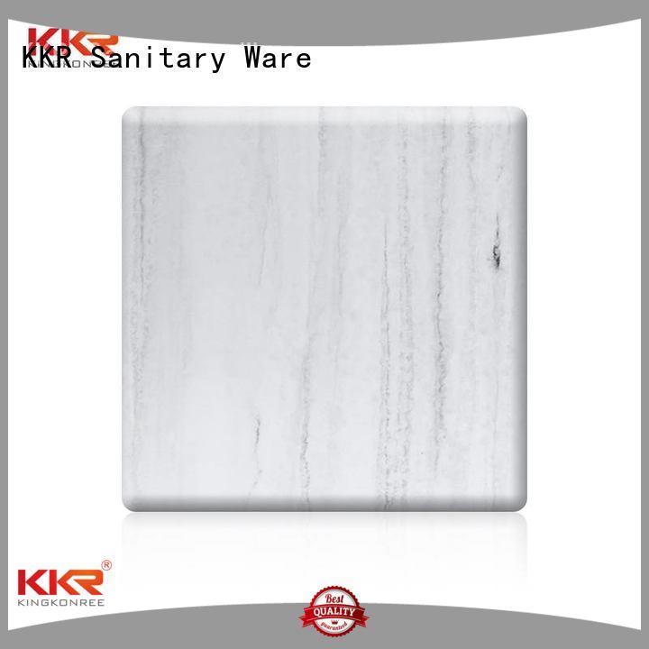 texture pattern KingKonree Brand solid acrylic sheet factory