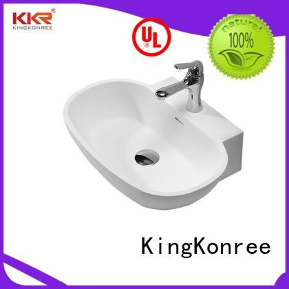 sanitary ware above counter vessel sink supplier for restaurant KingKonree