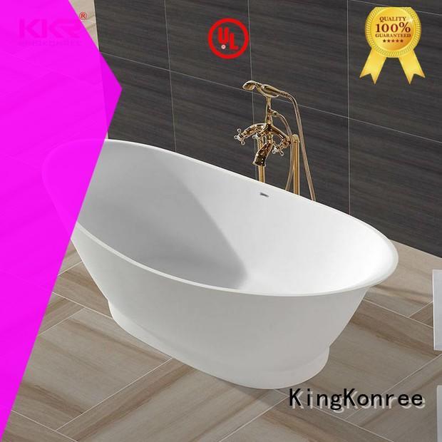 KingKonree high-end free standing soaking tubs at discount
