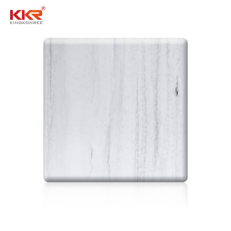 KingKonree Artificial Marble Texture Pattern Solid Surface Sheets KKR - M8810 Texture Pattern Solid Surface Sheets image48