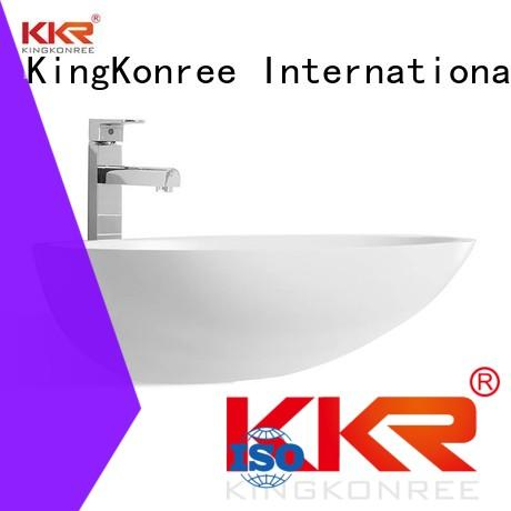 KingKonree pure above counter vessel sink at discount for hotel