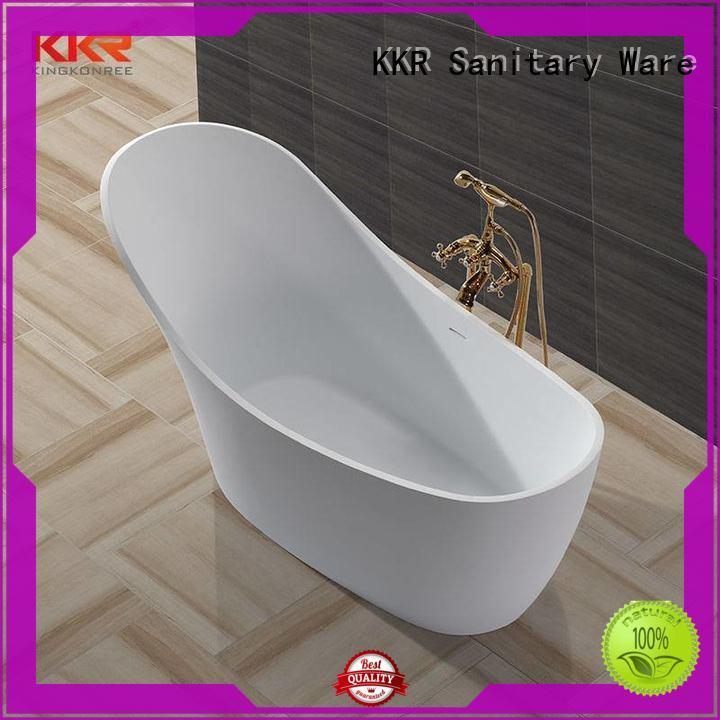 KingKonree hot-sale solid surface freestanding tubs standard