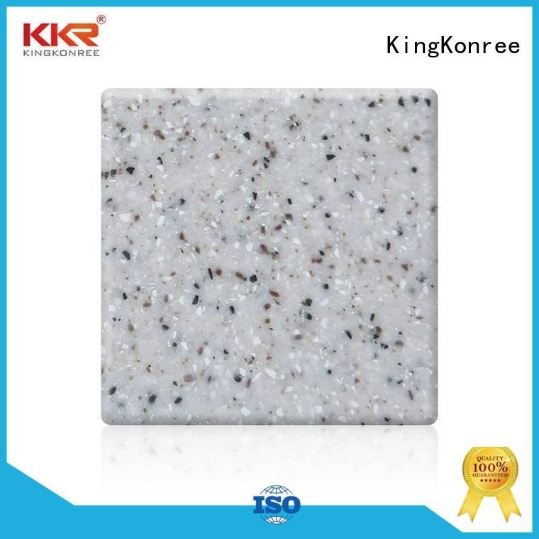 12mm acrylic kitchen worktops gray for home KingKonree