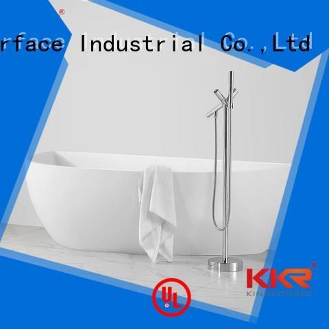 Solid Surface Freestanding Bathtub b010 size standing KingKonree Brand company