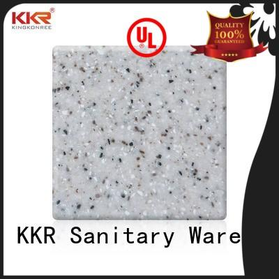KingKonree acrylic solid surface countertops with good price for home