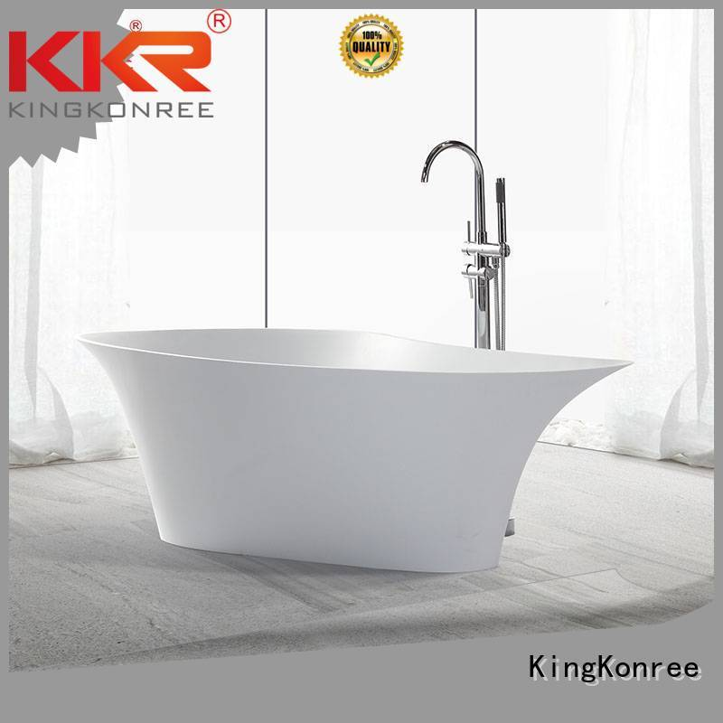 Wholesale kkrb011 Solid Surface Freestanding Bathtub ware KingKonree Brand