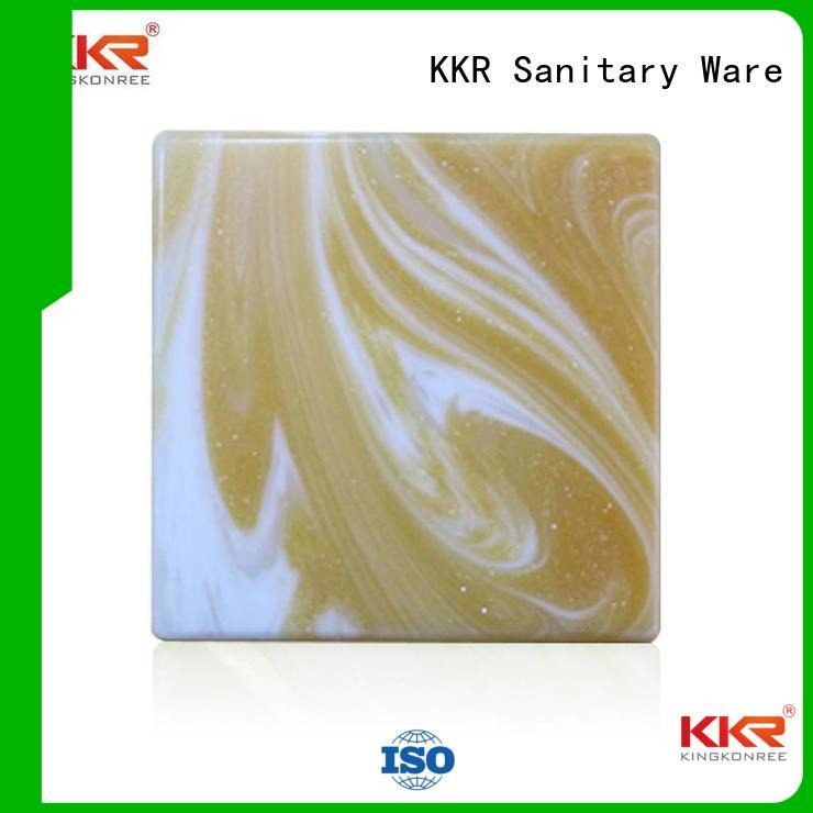 solid translucent solid surface acrylic surface KingKonree Brand