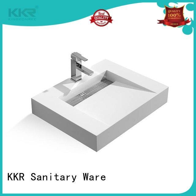 classic washroom basin customized for hotel
