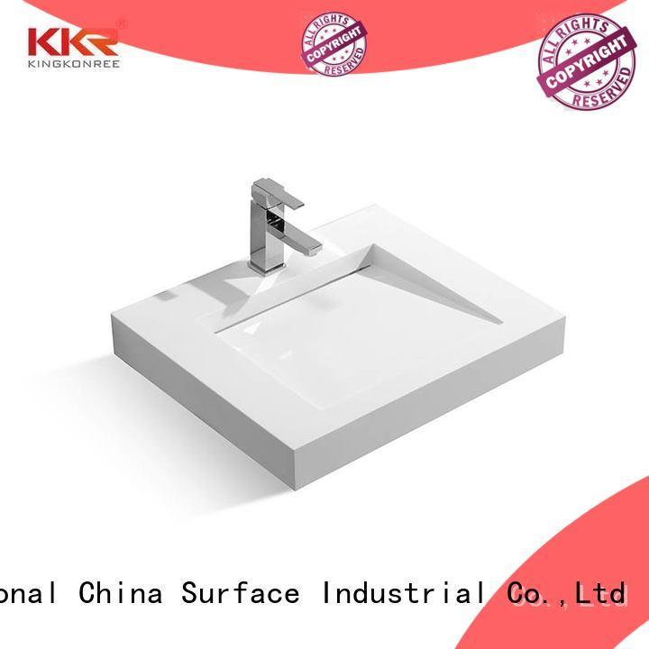 KingKonree wall basin customized for hotel