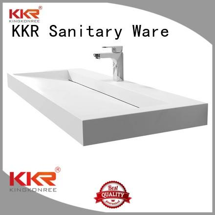 basin with cabinet price sanitary KingKonree Brand cloakroom basin with cabine