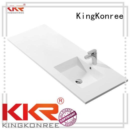royal sanitary cloakroom basin with cabine marble KingKonree Brand company