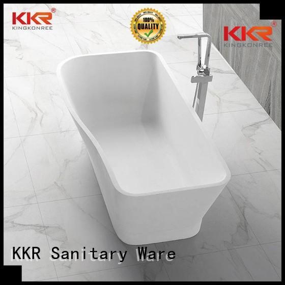 renewable b005 b002c KingKonree Brand solid surface bathtub