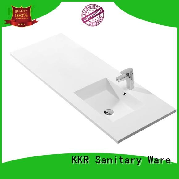 KingKonree smooth wash basin models and price customized for bathroom