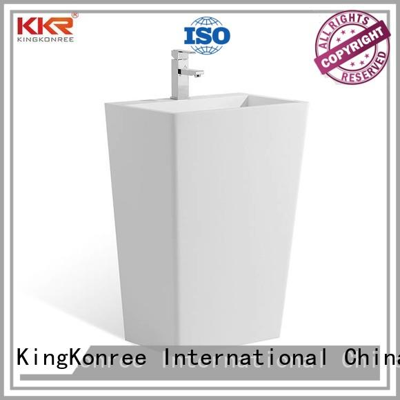 KingKonree height freestanding bathroom basin supplier for bathroom