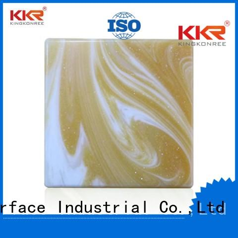 translucent solid surface acrylic backlit translucent acrylic wall panels KingKonree Brand