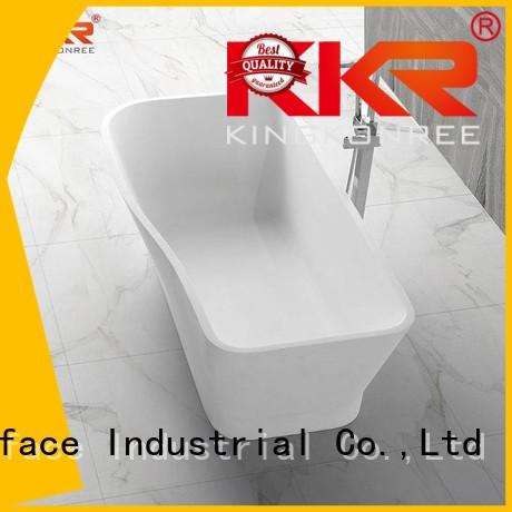 Solid Surface Freestanding Bathtub inside sales solid surface bathtub KingKonree Brand