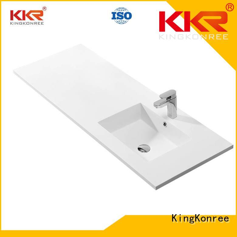 Hot acrylic cloakroom basin with cabine marble touch KingKonree Brand
