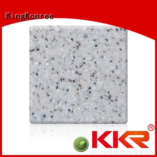 thermo forming sheet OEM solid surface countertops prices KingKonree