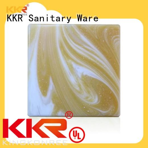 acrylic solid surface countertops yellow for home KingKonree