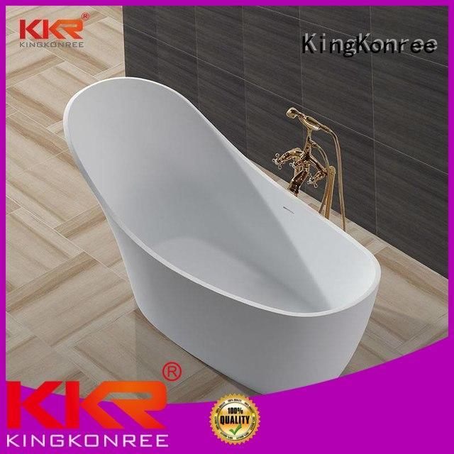 Solid Surface Freestanding Bathtub renewable b002c KingKonree Brand company