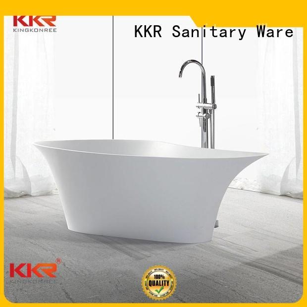 Wholesale royal solid surface bathtub KingKonree Brand