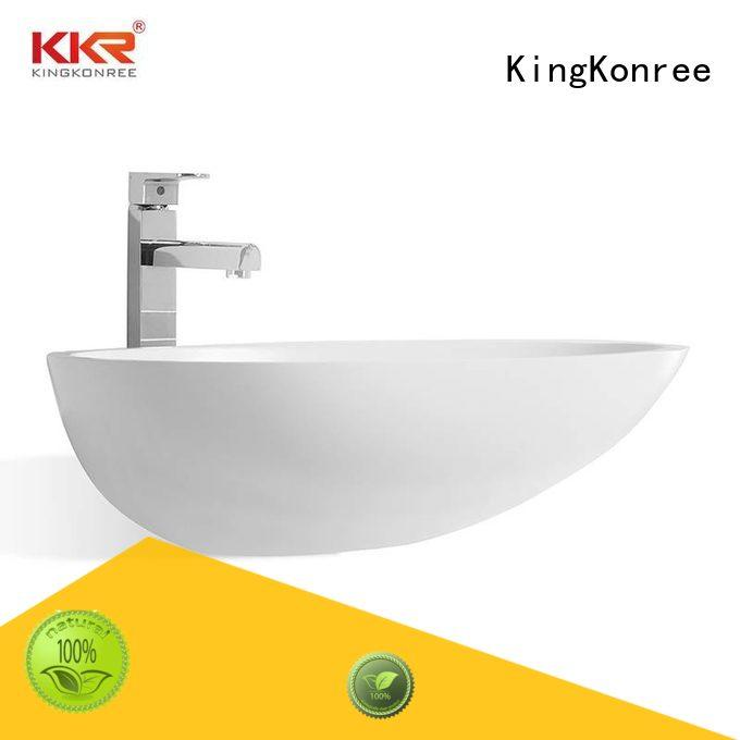 square above counter bathroom sink basin for hotel KingKonree
