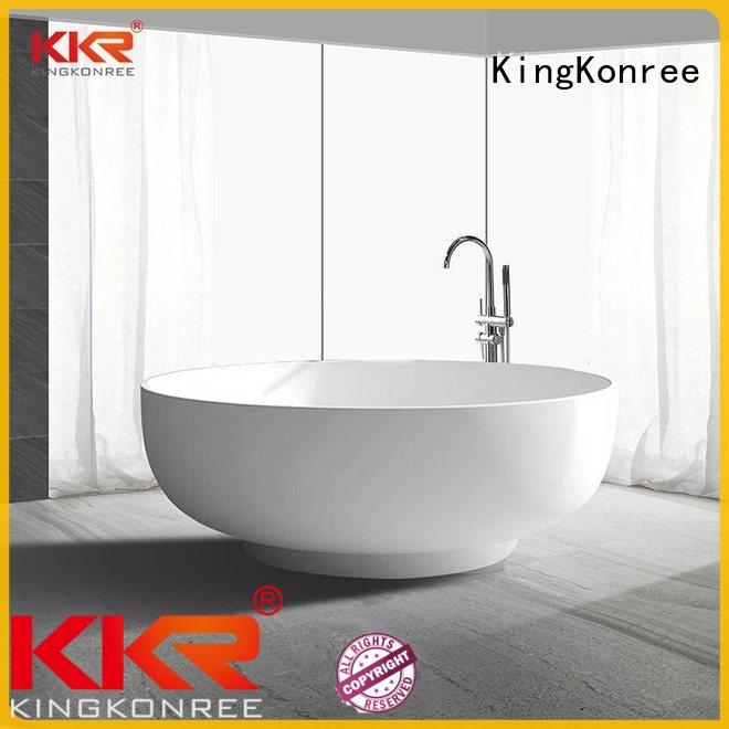 insulated freestanding bathtubs marble KingKonree