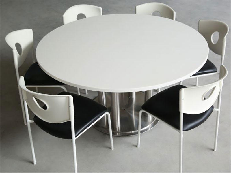 KKR Textured Solid Surface Tables and Bar Counters for Restaurant
