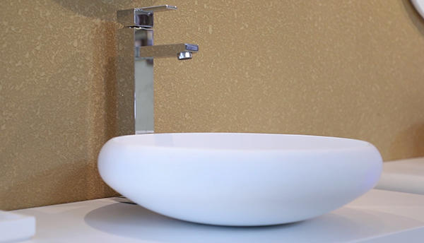 KKR Countertop White Wash Basin