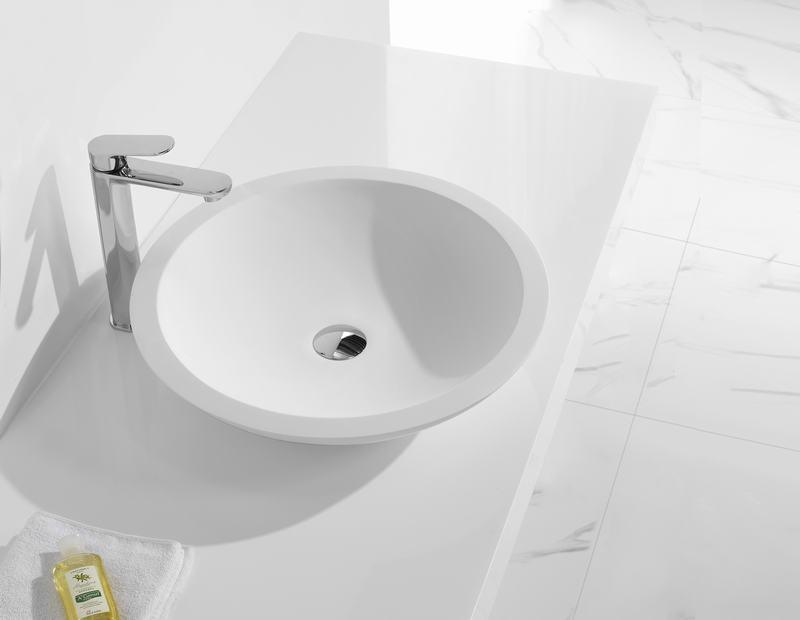KingKonree top mount bathroom sink customized for room-1