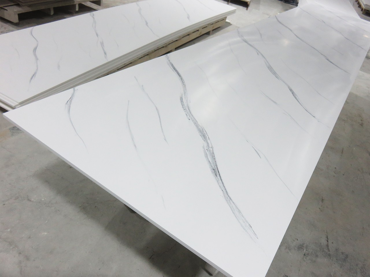 Artificial Marble Texture Pattern Solid Surface Sheet KKR-M8819-11