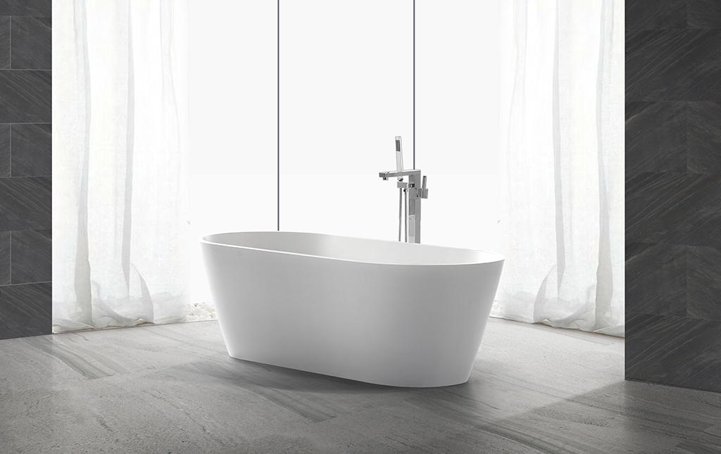 matt small freestanding soaking tub at discount for hotel