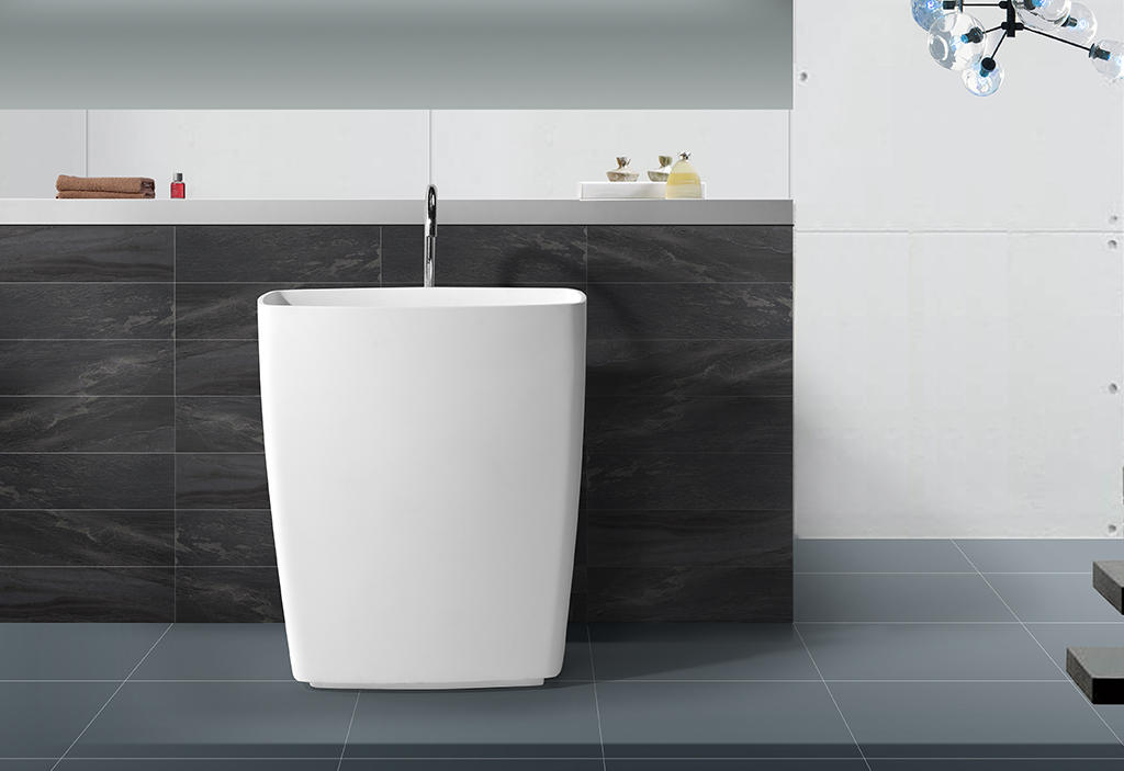 solid surface basin for wholesale for shower room
