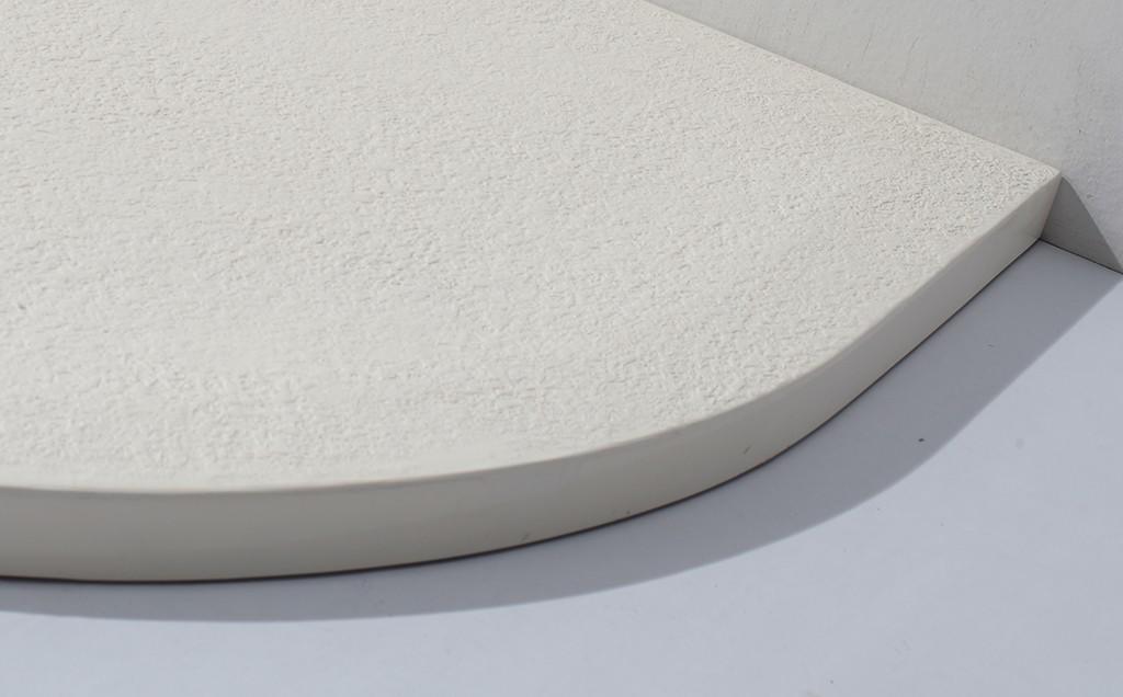 KingKonree quarter circle long shower tray at -discount for bathroom-2
