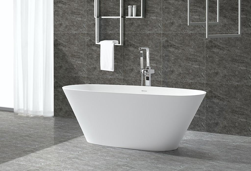overflow free standing bath tubs for sale ODM for family decoration-1