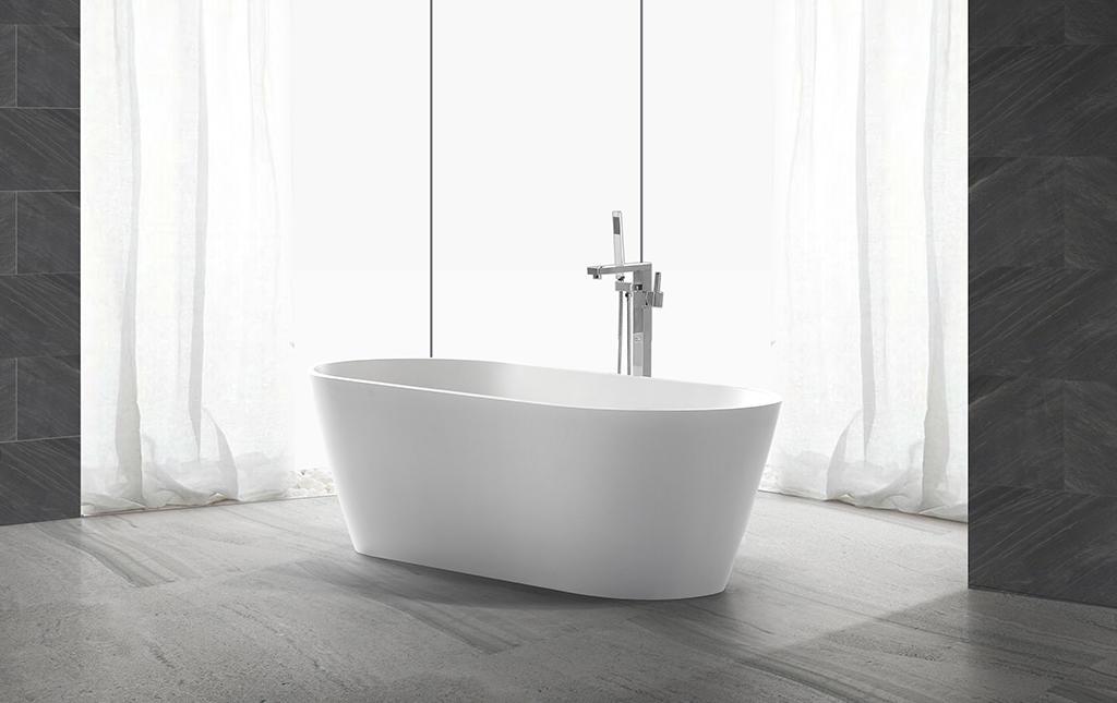 rectangular freestanding tub KingKonree-1
