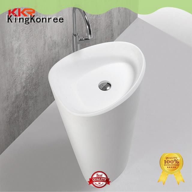 KingKonree hot-sale solid surface basin on-sale