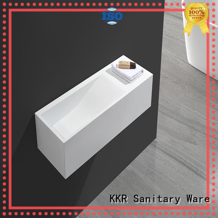 KingKonree solid surface basin for wholesale for bathroom