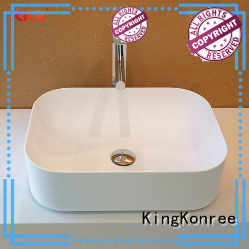 small countertop basin for hotel KingKonree