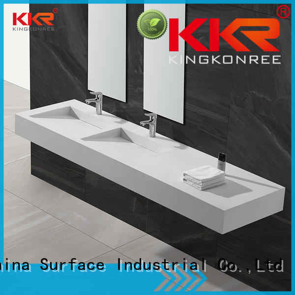 KingKonree royal small wall mounted wash basins for hotel