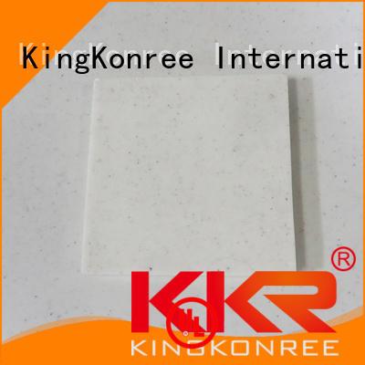 KingKonree Brand 96 acrylic solid surface sheet sheets supplier