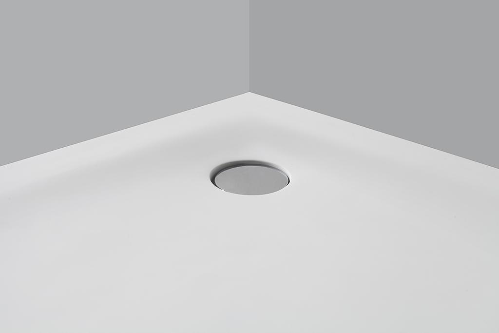 KingKonree pan shape 900 x 800 shower tray for bathroom-2